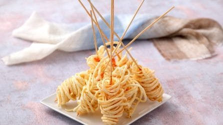 Deep fried noodle cage shrimp: perfect for a delicious appetizer!