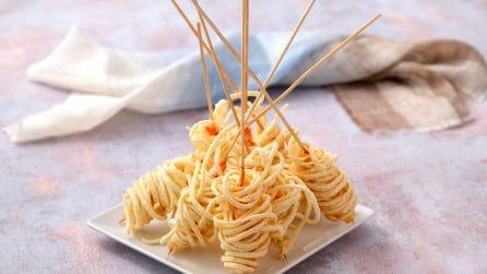 Gamberi in gabbia: l'idea per un aperitivo sorprendente con 3 ingredienti!