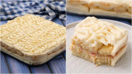 Torta di crema e savoiardi: ogni morso è una vera goduria!