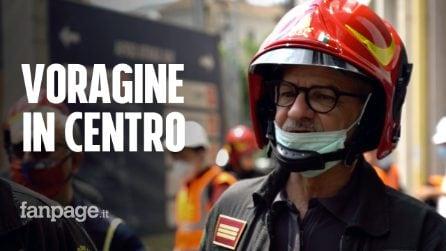 """Metro M4, voragine in un palazzo in centro a Milano: """"Tremano i muri la notte, dicono che è normale"""""""