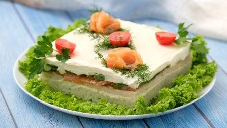 Torta tramezzino: la ricetta estiva che non vedrete l'ora di preparare!