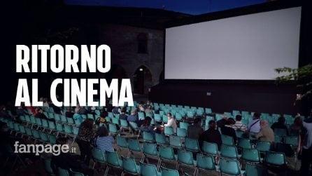 """Riaprono i cinema e gli appassionati ritornano in sala: """"Ci è mancato il grande schermo"""""""