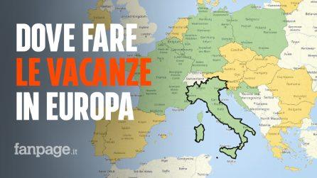 Re-Open Eu, la mappa definitiva per capire dove (e come) puoi fare le vacanze in Europa
