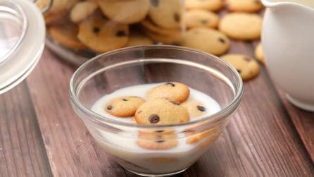 Mini cookies: come preparare dei biscotti mini da mangiare come se fossero cereali!