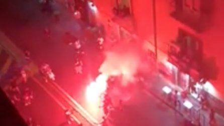 Napoli vince la Coppa Italia: i festeggiamenti nella città