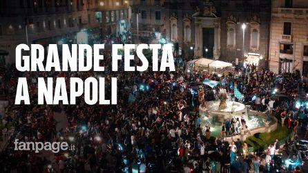Il Napoli vince la Coppa Italia contro la Juve: migliaia in strada per festeggiare