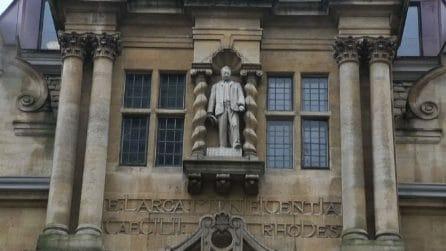 Oxford, cade la statua di Cecil Rhodes: rimosse le statue legate al razzismo