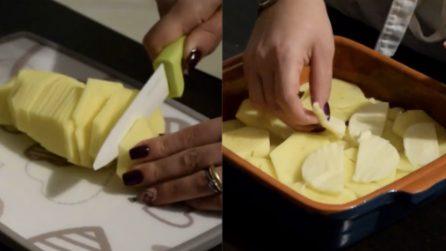 Parmigiana di patate: la ricetta del contorno ricco e buonissimo