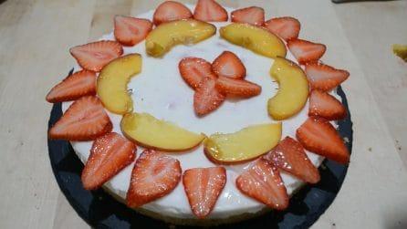Cheesecake alla frutta: la ricetta del dessert fresco e goloso