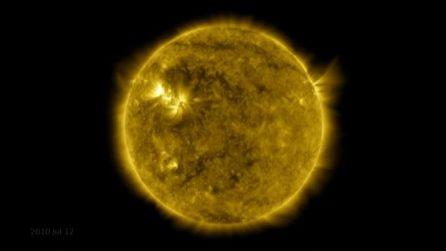 Il timelapse è epocale: 10 anni di vita del Sole in 1 minuto