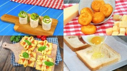 5 Ricette semplici e veloci per preparare dei deliziosi snack!