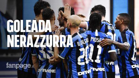 Inter-Brescia 6-0: Goleada nerazzurra con sei marcatori diversi, Rondinelle verso la Serie B