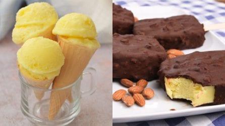 3 Ricette facili per fare il gelato senza gelatiera!
