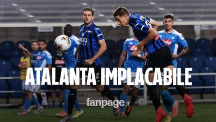 Atalanta-Napoli 2-0, si fermano gli azzurri: Pasalic e Gosens castigano i partenopei