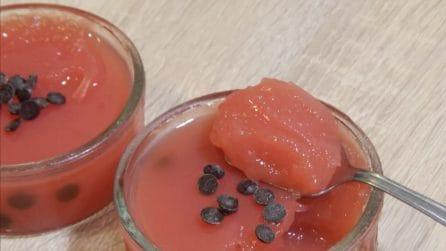 Gelo di anguria: il dessert fresco e cremoso
