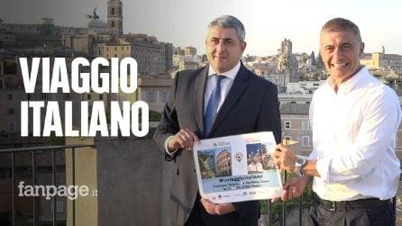 """""""Io viaggio italiano"""", a Roma il segretario Unwto con Univerde per far ripartire il turismo"""