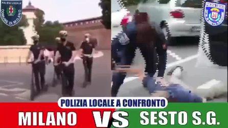 Poliziotti come rambo con la musica di Chips: l'imbarazzante video del sindaco di Sesto San Giovanni