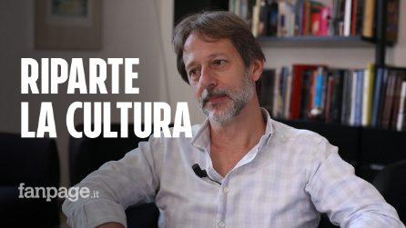 """Il vicesindaco di Roma Luca Bergamo: """"Riparte la cultura, ora il sostegno pubblico è indispensabile"""""""