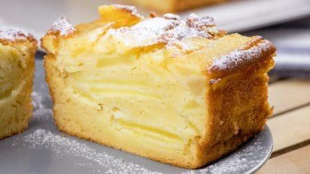 Plumcake invisibile alle mele: un dolce cremoso che vi farà perdere la testa!