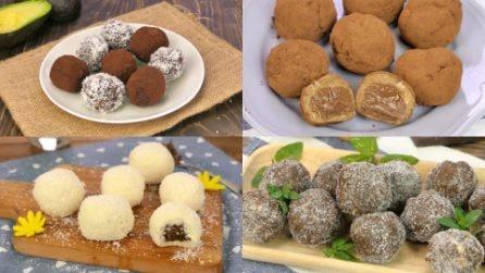 I tartufi sono piccoli ma la loro dolcezza è infinita! Prova a realizzare una di queste ricette!