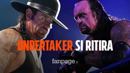 """Undertaker annuncia il ritiro dalla WWE: """"Non ho più niente da conquistare nel ring"""""""