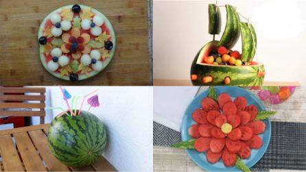 4 Modi per servire l'anguria che sorprenderanno i tuoi ospiti!