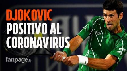 Novak Djokovic positivo al Coronavirus: si era espresso a sfavore del vaccino per il Covid-19