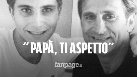 """Alex Zanardi, il commovente post del figlio Niccolò: """"Forza papà ti aspetto, torna presto"""""""
