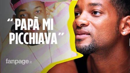 """Will Smith si confessa: """"Mio padre mi picchiava. Ho cicatrici esteriori, ma anche interiori"""""""