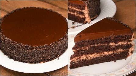 Chocolate cake: an irresistible dessert that everyone will love!