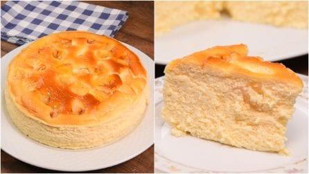 Cheesecake cremosa all'ananas: un dolce originale e dal sapore unico!