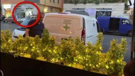Raid a Centocelle: in 5 armati di mazze devastano due locali