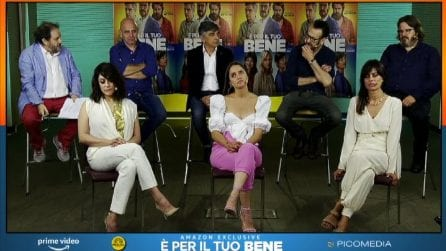 """Salemme, Giallini, Battiston papà gelosi in """"E' per il tuo bene"""""""