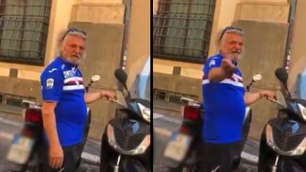 """""""A Ferrero, te saluta Dzeko"""", la reazione del presidente della Sampdoria allo sfottò"""