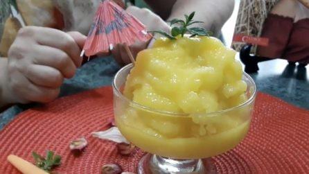 Sorbetto al mango fatto in casa: la ricetta per prepararlo con 3 ingredienti