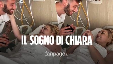 Edoardo realizza il sogno della sua Chiara: raccolti 18mila euro per la ricerca contro il cancro
