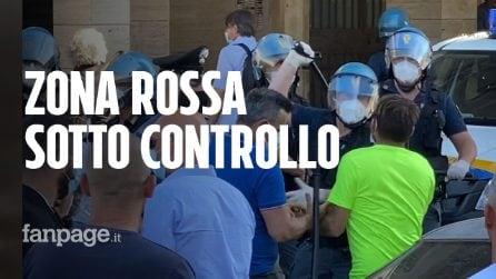 Più di 40 casi Covid a Mondragone: la zona rossa adesso è blindata