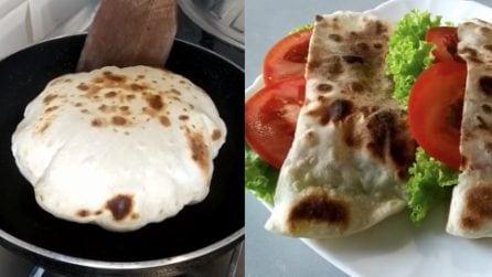 Pita fatta in casa: la ricetta per averla leggera e saporita