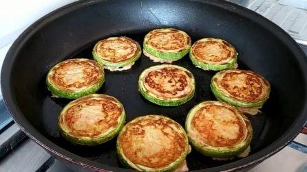 Anelli di zucchine ripieni: la ricetta del contorno ricco e saporito