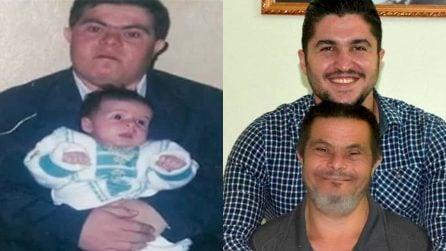 """Il papà ha la sindrome di Down, ma per Sader questa è una fortuna: """"Mi ha dato la felicità"""""""