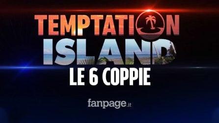 Parte Temptation Island 2020: ecco quali sono le 6 coppie in gioco