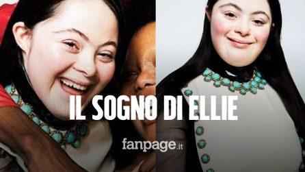 """Ellie Goldstein, la prima modella di Gucci con sindrome di Down: """"Ha realizzato il suo sogno"""""""