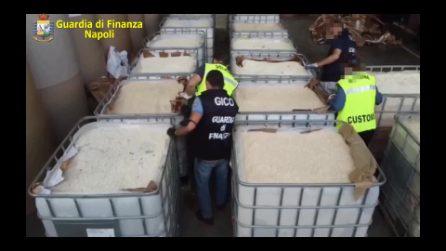 Droga dell'Isis, il sequestro più grande del mondo nel porto di Salerno