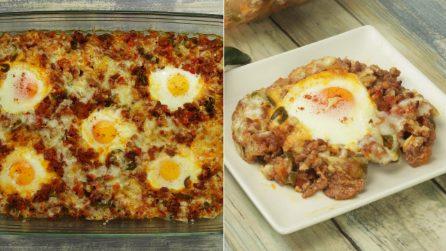 Sformato di carne e uova al forno: il piatto facile e gustoso, pronto in 30 minuti!