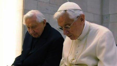 E' morto il fratello di Papa Ratzinger, aveva 96 anni