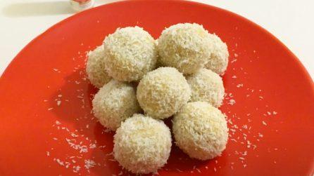 Tartufini al cocco: la ricetta del dessert veloce e pieno di gusto