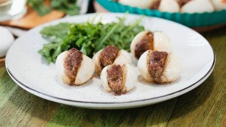 Cipolline ripiene di carne: sono troppo buone per non provarle!