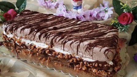Semifreddo al cioccolato e nocciole: la ricetta del dessert davvero goloso