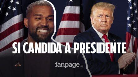 "Kanye West si candida a Presidente degli Stati Uniti. Elon Musk: ""Ti sostengo"""