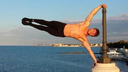 Dalle delusioni alla fama in Belgio: la favola di Domenico, il ragazzo pugliese che sfida la gravità
